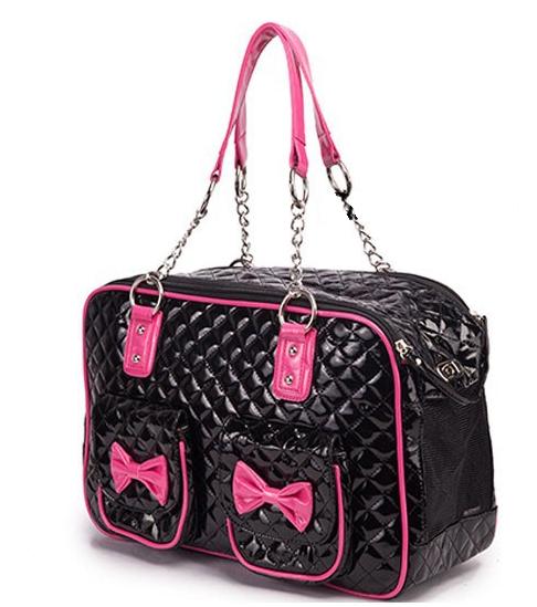 Μαύρη τσάντα μεταφοράς DeNik Pets
