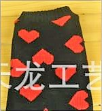 Μαύρο πουλόβερ με κόκκινες καρδούλες DeNik Pets