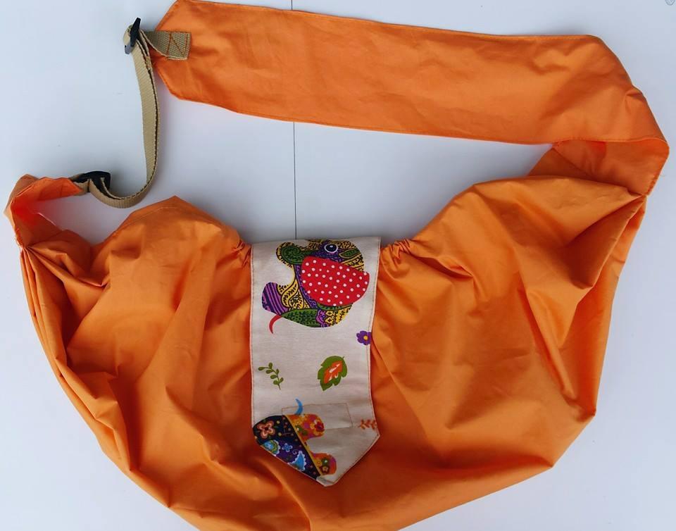 Πορτοκαλί Μάρσιπος Furry Tails