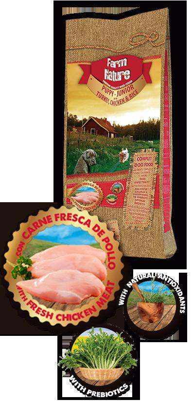 Farm-Nature-Turkey-Chicken-Rice-Puppy-Junior