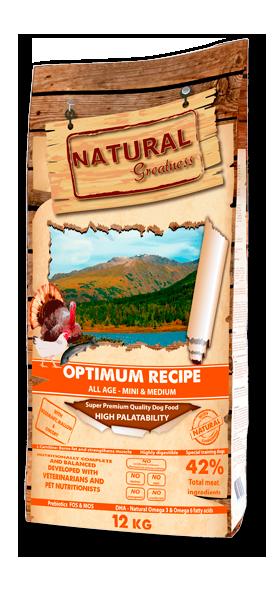 Optimum Recipe - Mini & Medium