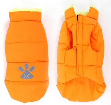 Πορτοκαλί μπουφάν DeNik Pets