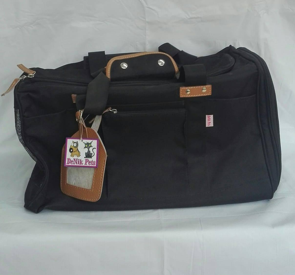 DeNik-Pets-Μαύρη-τσάντα-μεταφοράς