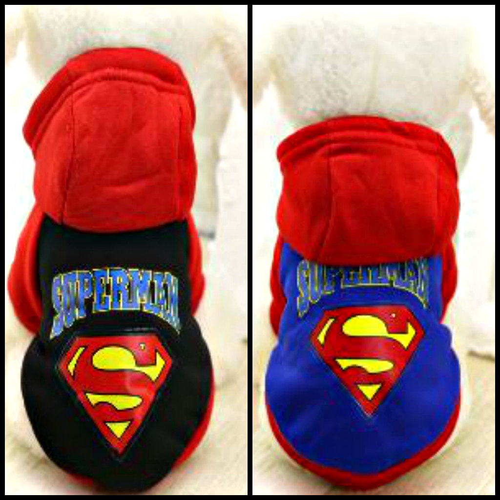 DeNik Pets - Φούτερ SUPERMAN