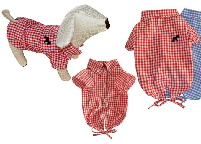Woofmoda - Κόκκινο καρό πουκάμισο Picnic